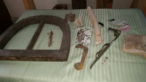 старые вещи музейной экспозиции