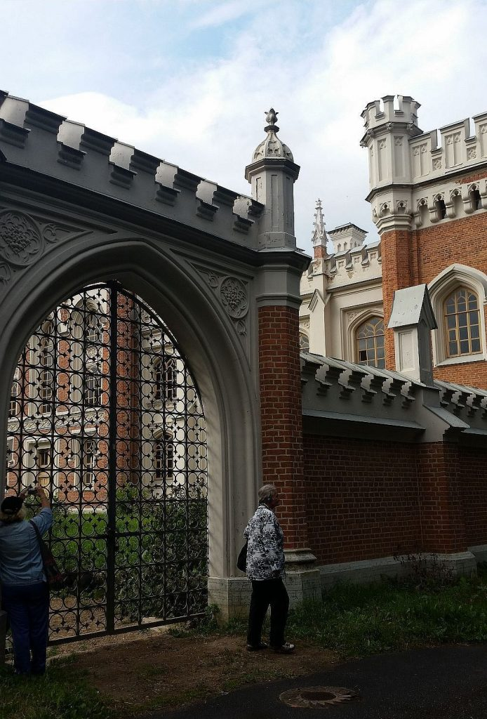 ворота манежа