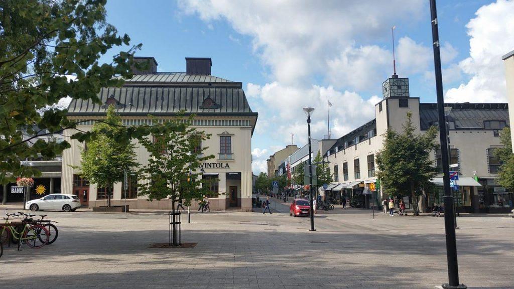 Центр городка