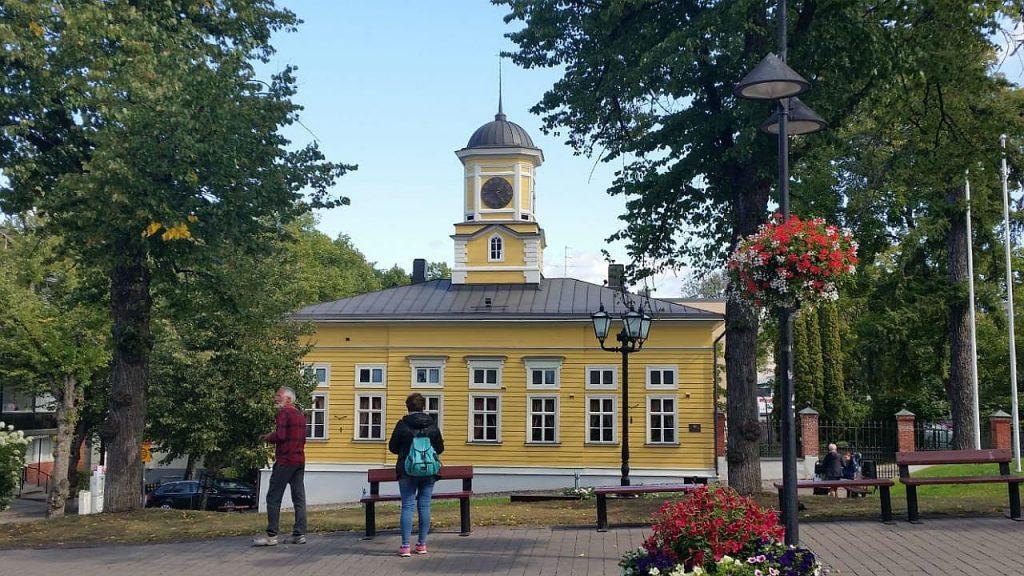 Деревянная Городская Ратуша постройки 1829г.