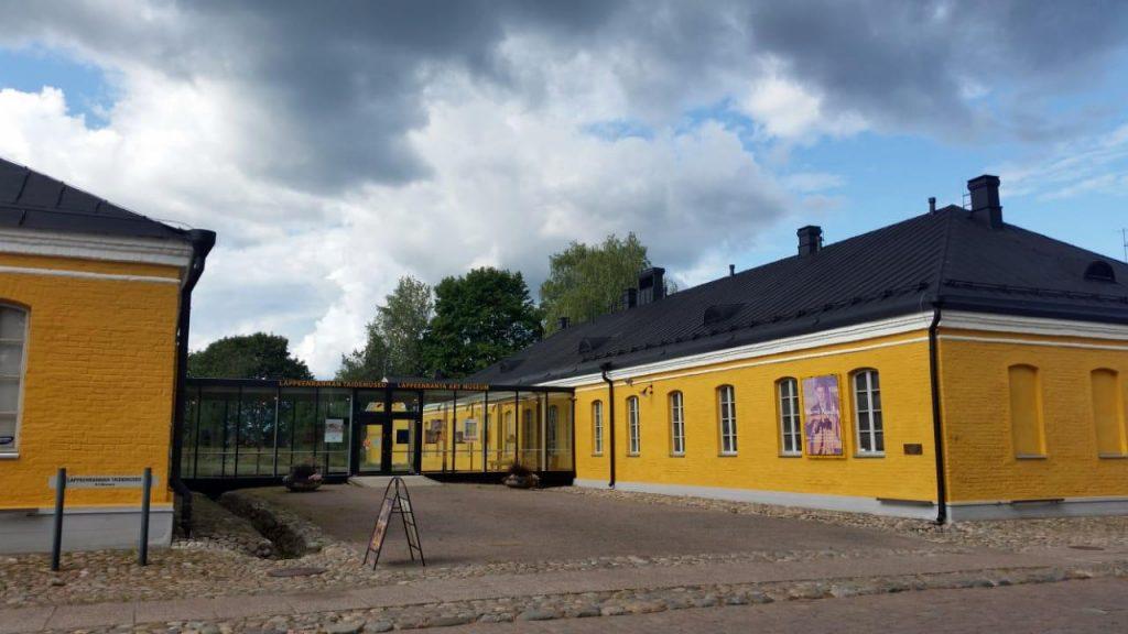 Здание Художественного музея Южной Карелии