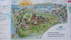 схема крепости Линнойтус