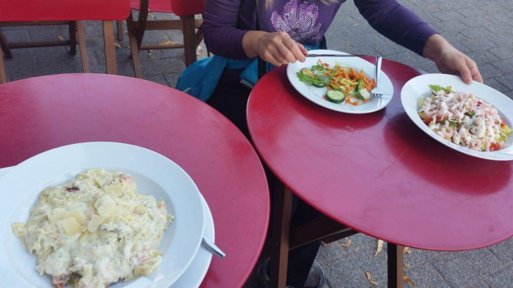 Наш скромный обед :)