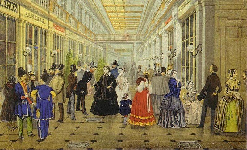 Пассаж. Открыт в Петербурге в 1848г.