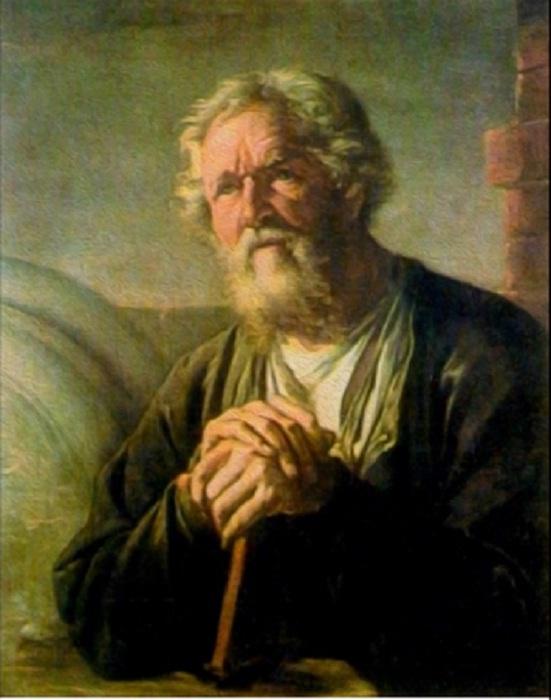 Предположительно портрет С.Суханова работы  В.А.Тропинина
