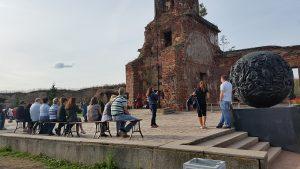 руины храма Рождества Иоанна Предтечи