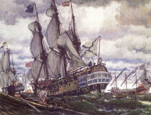 фрегаты Петра I