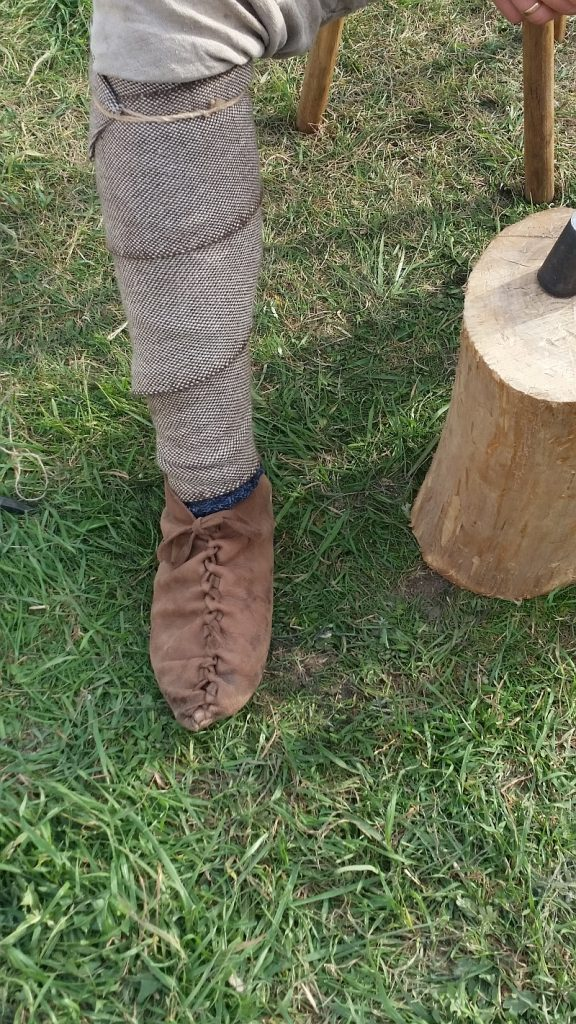 Средневековая обувка