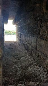 толщина стены крепости