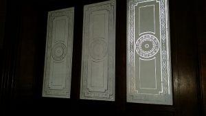 двери в оранжерею