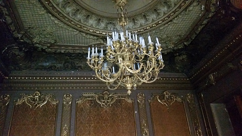 лепнина потолка