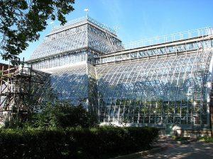 Оранжереи Ботанического сада