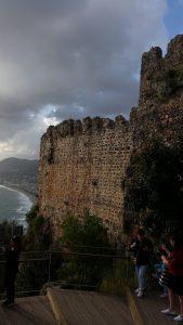 старые стены крепости Аланья