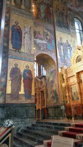 мозаичные стены храма