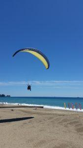 приземление на пляж Клеопатры