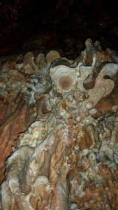 срез сталактита
