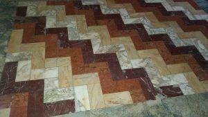 Фрагмент мозаики пола