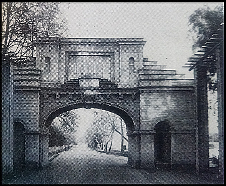 Триумфальная арка на Каменном острове. Фото 1920г.