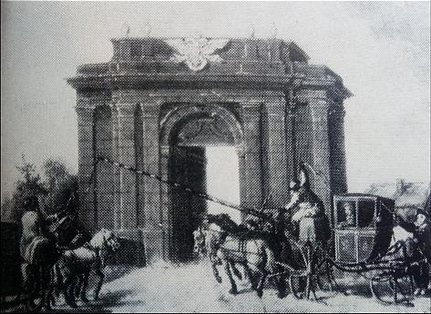Лифляндские ворота. К.Каноппе.1799г.