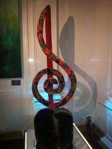 Пуфик Скрипичный ключ