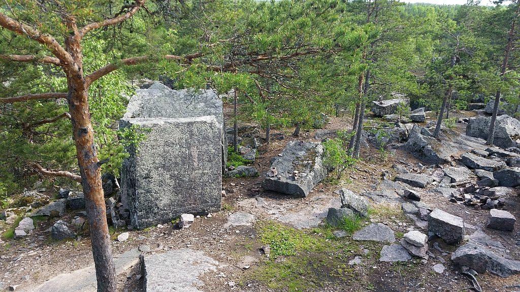 Каменоломня 18 века!