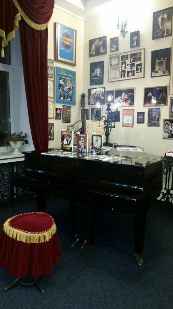 Музейный рояль