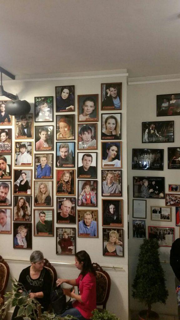 Фотографии актеров театра