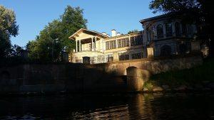 Правое крыло дачи Громова