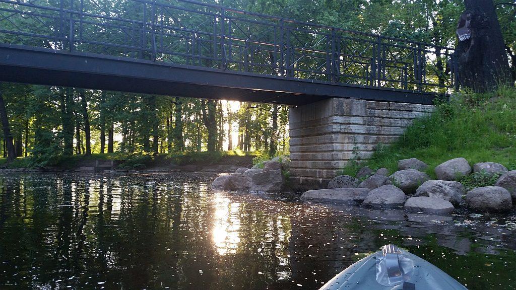 Мост через канал в Лопухинском саду