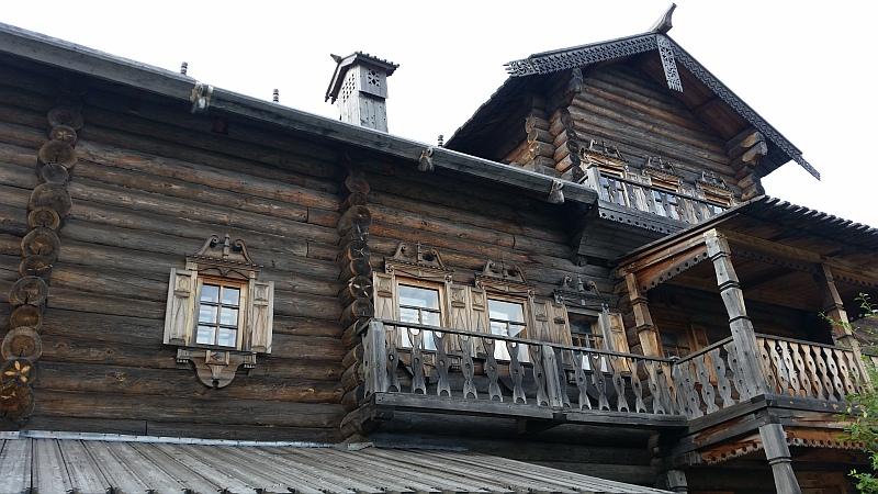 Образец русского деревянного зодчества