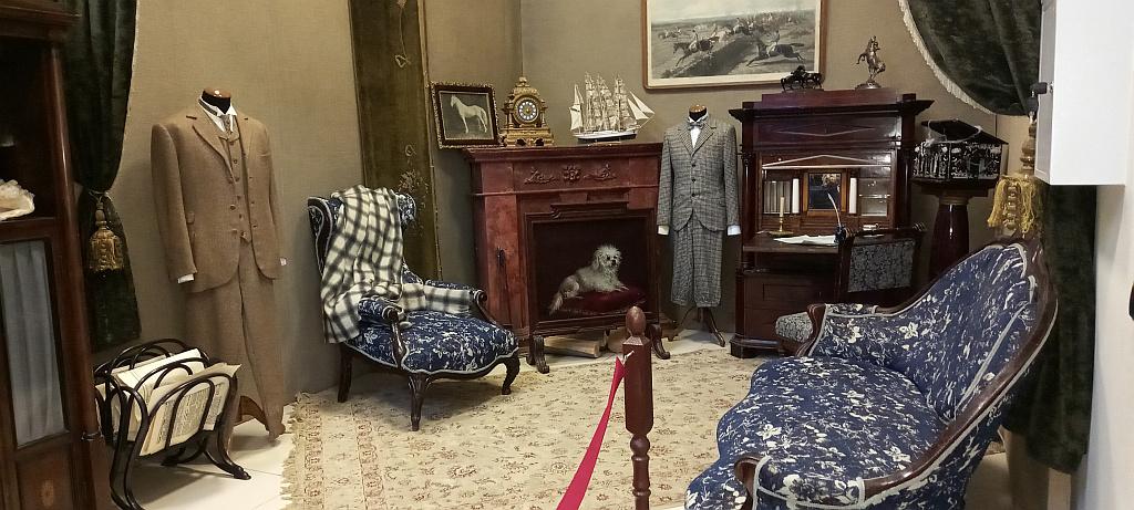 """Декорации и костюмы из фильма """"Шерлок Холмс и доктор Ватсон"""", 1979-1986"""