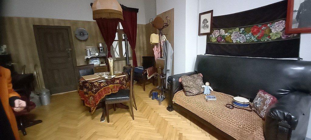 Комната блокадного Ленинграда