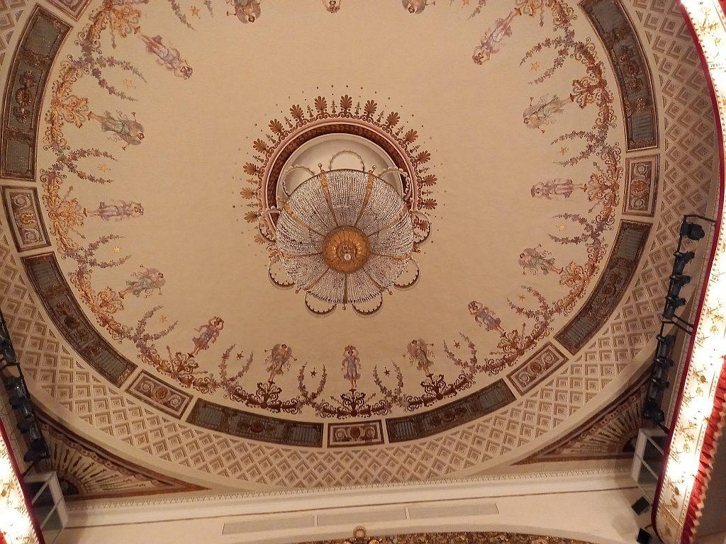 Орнамент потолка