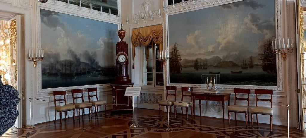Картины, посвященные Чесменскому сражению 1770 года