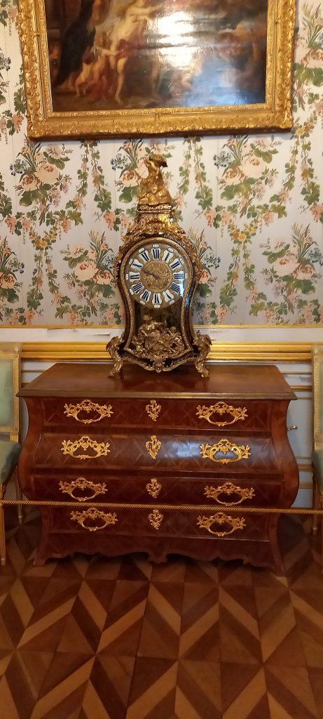 """Часы в стиле """"буль"""". Франция, XVIII век"""