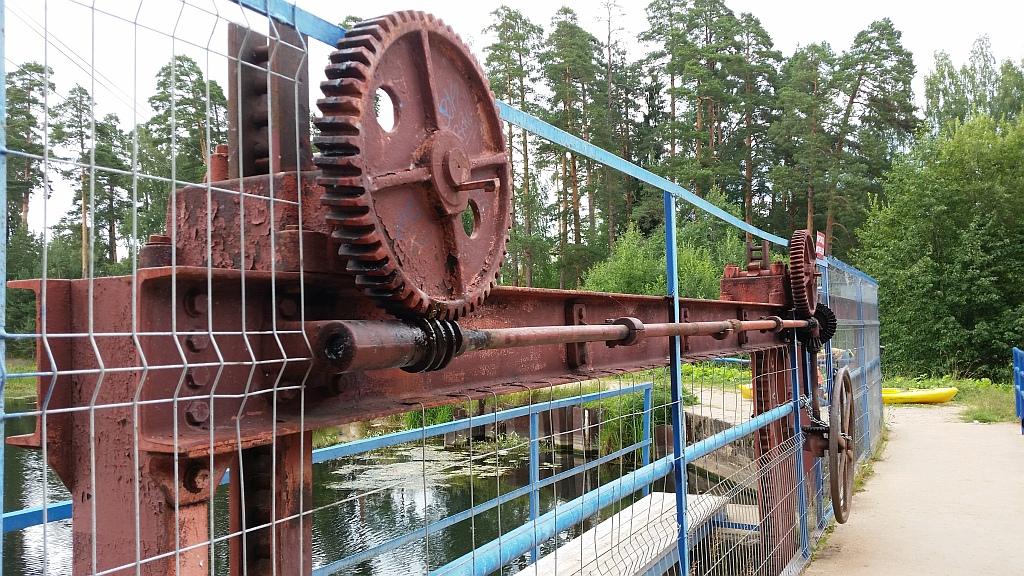 Механизм плотины
