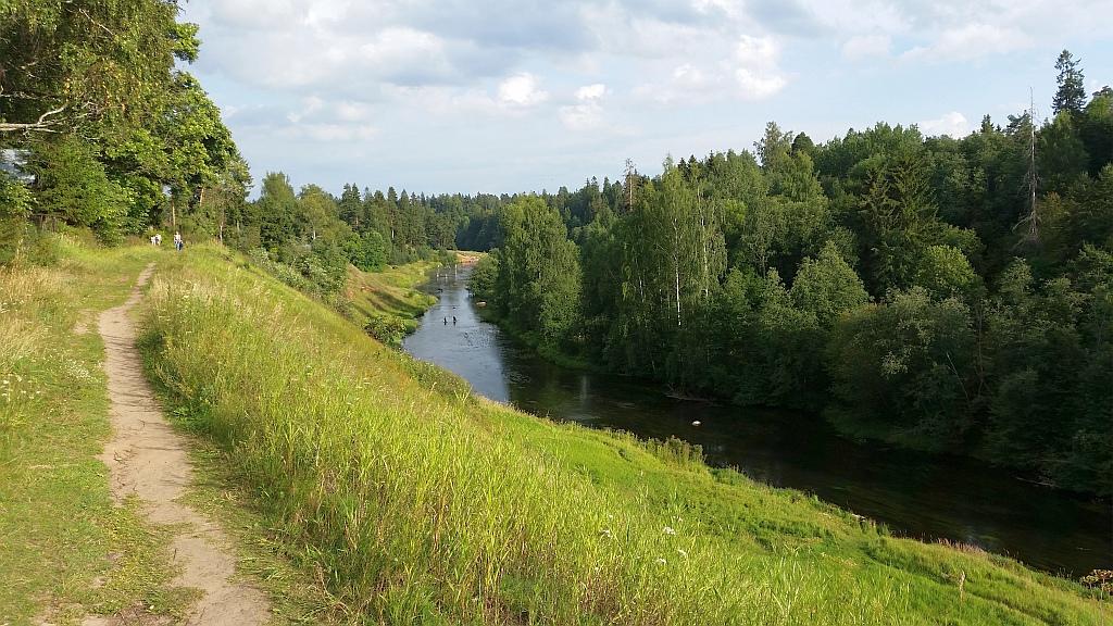 В 18-19 веках по реке производился сплав леса