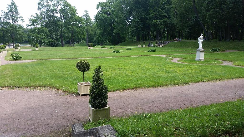 Скульптура Сатира в Голландском саду